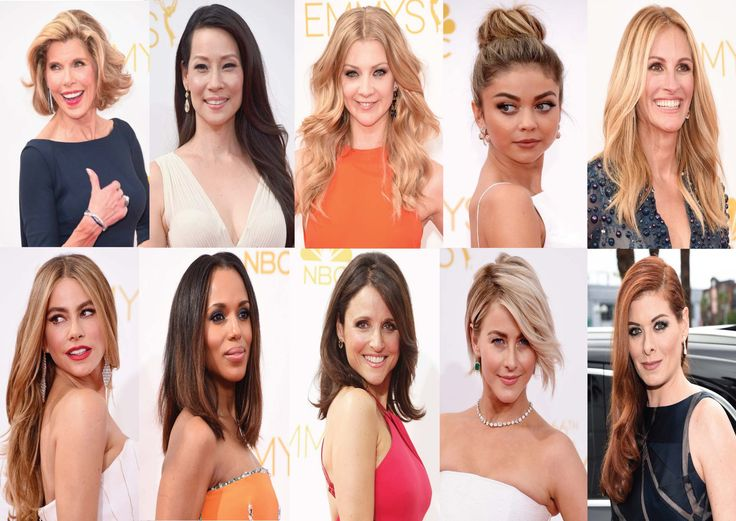 The Emmy's 2014 top hairstyle pics :) x