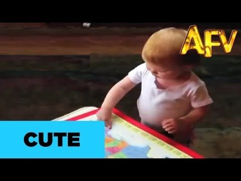 Toddler does the smarty pants dance | Kids | AFV - YouTube