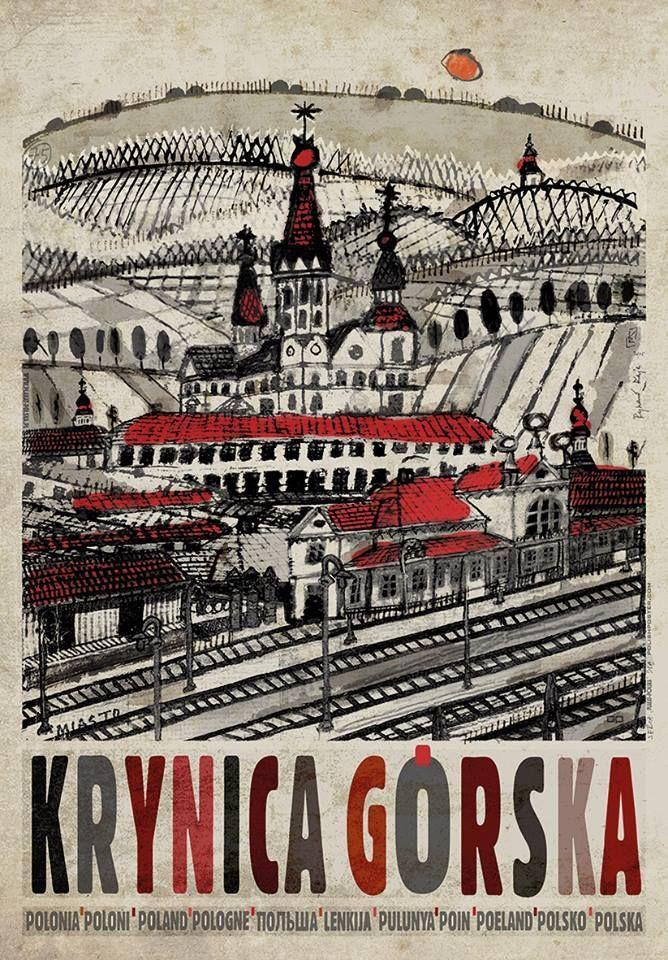 Krynica Górska by Ryszard Kaja.