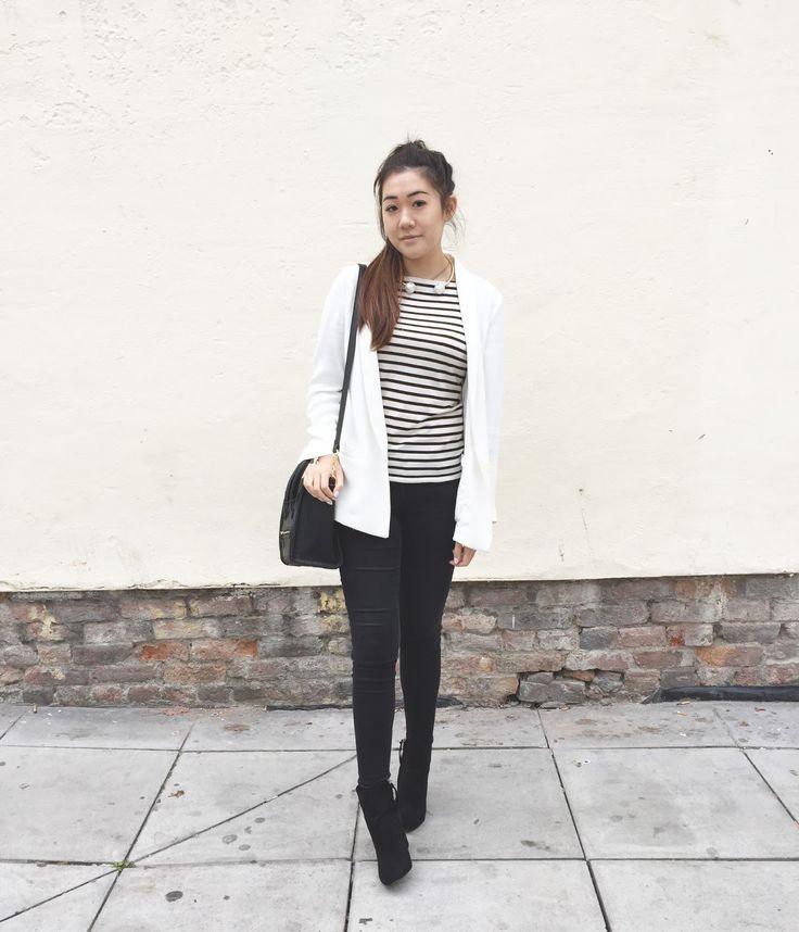 celine trio bag for sale - ASOS excite me black ankle boots, Zara pearl choker necklace, Zara ...