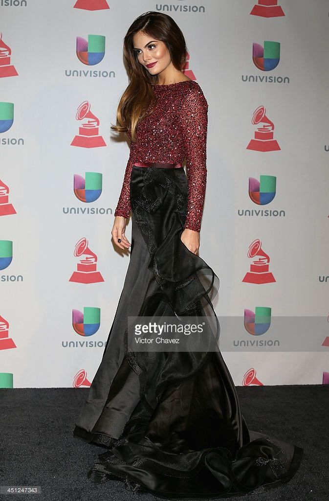 Model Ximena Navarrete poses in the press room during The 14th Annual Latin GRAMMY Awards at the Mandalay Bay Events Center on November 21, 2013 in Las Vegas, Nevada.