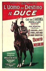WWII Mussolini Propaganda Posters