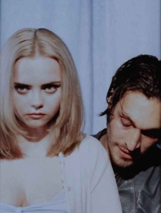 Buffalo '66, surprisingly good film.  Vincent Gallo lives up to the stereotypical image of the enigmatic but yet brilliant filmmaker.