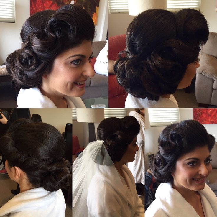 Gorgeous bride with a stunning modern twist on vintage style. Absolutely love this look had so much fun with this bride