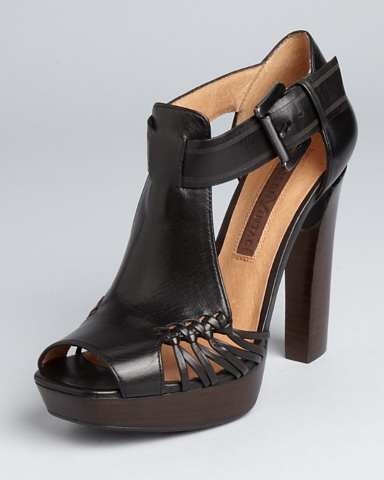 Replacement Brown Leather Shoe Ankle Strap
