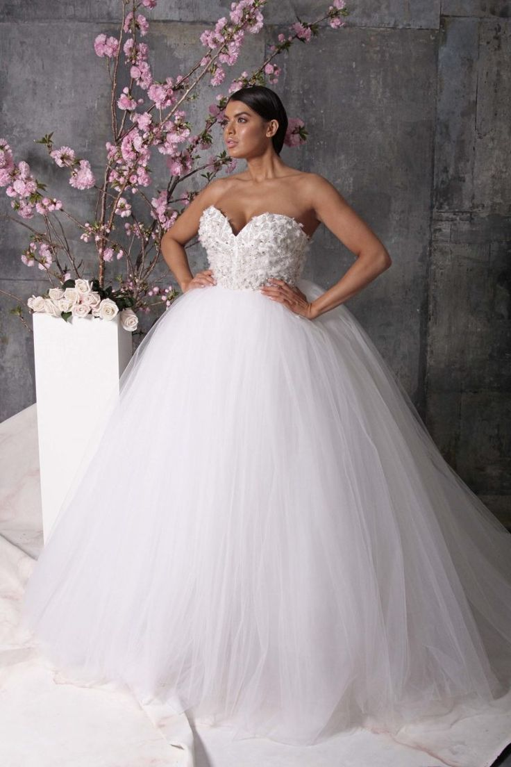 Lovely First Look Christian Siriano us Spring Bridal Collection u Includes PLUS SIZES