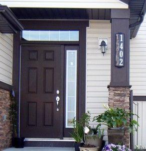 Vertical Designer Series House Numbers