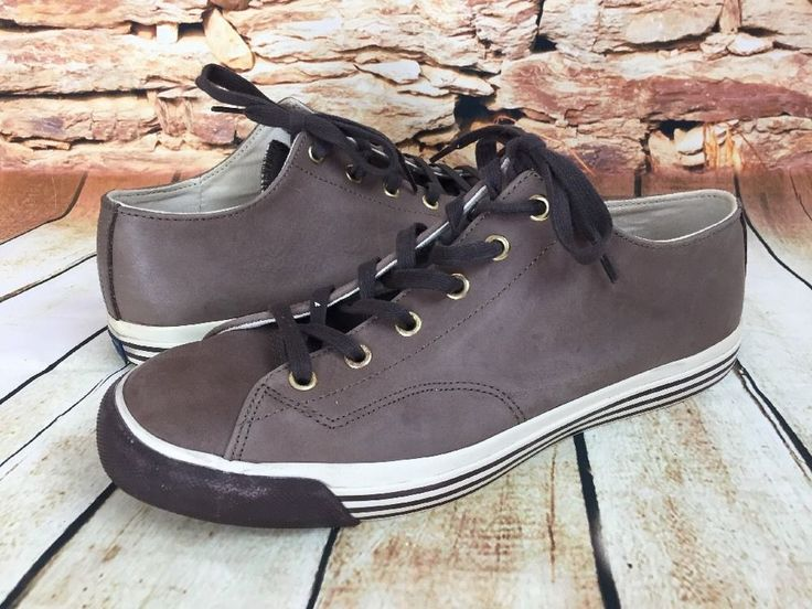 Pro-Keds Mens 69er Lo Oiled Vintage Leather Sneakers Athletic Shoes Taupe 10-1/2 #ProKeds #FashionSneakers