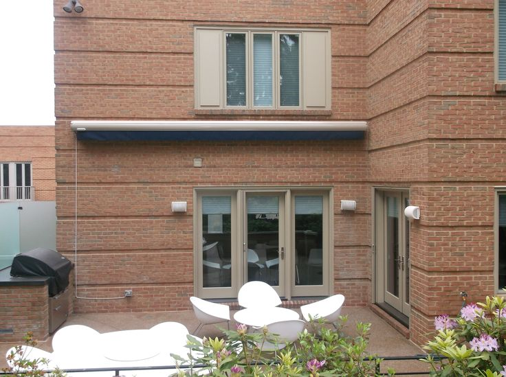 This Is A Suntube Retractable Awning Installed In Pittsburgh By Thomas V.  Giel Garage Doors