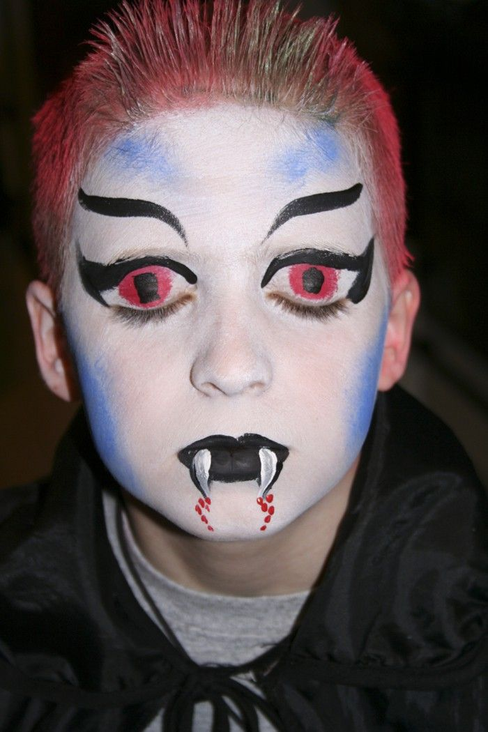 18 best Halloween Make-up Ideas For Spooky Children\'s Faces images ...