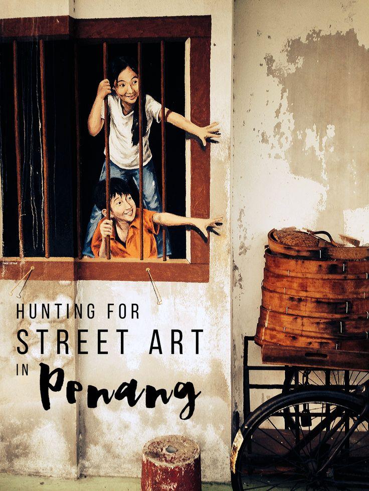 George Town Graffiti: Hunting for Street Art in Penang, Malaysia