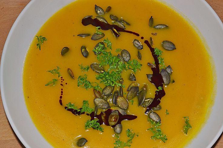 Kürbiscremesuppe, ein gutes Rezept aus der Kategorie Gemüse. Bewertungen: 147. Durchschnitt: Ø 4,5.