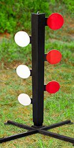 Dueling Tree Steel Targets or Shooting Tree by RangeMaster Rowdy