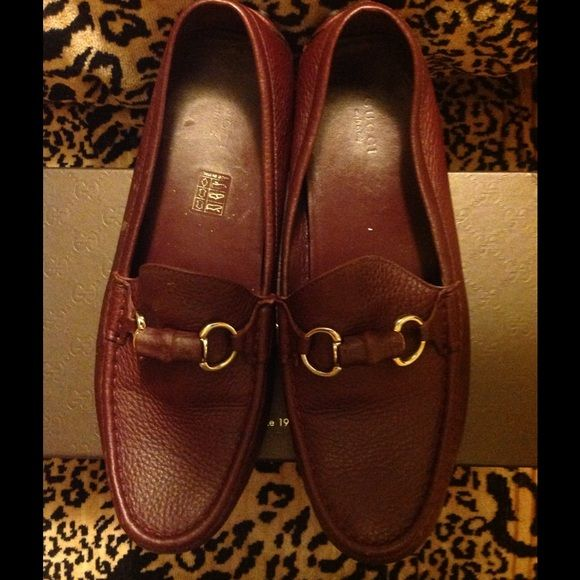 Gucci drivers ladies bamboo driver Gucci Damo Bamboo Leather Drivers. Ladies grab your car key and go authentic brand new in the original box Gucci Shoes