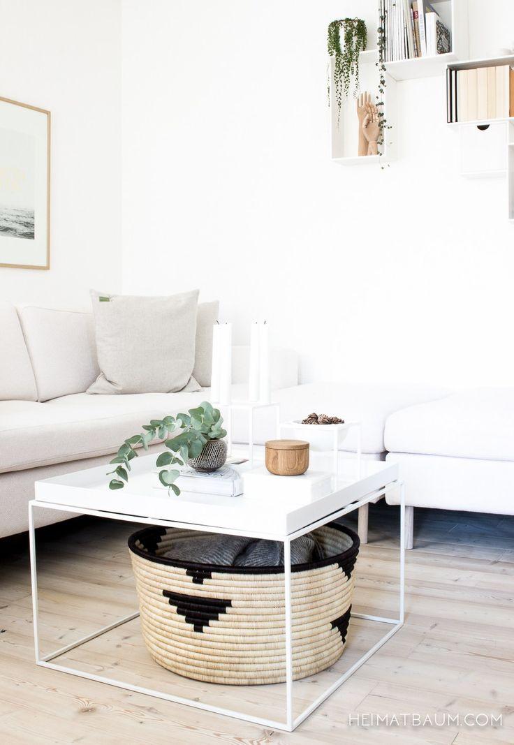 Design Bestseller {Shoppingtipp} - HEIMATBAUM Hay Tray Table, Scethno Livingroom, Eukalyptus