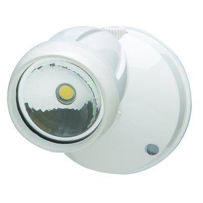 Heath Zenith 1-Head 12-Watt White Led Dusk-To-Dawn Security Light