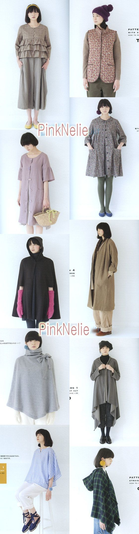 Yoshiko Tsukiori Easy to Make Year Round Mantle Cape by PinkNelie