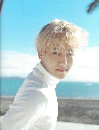 Baekhyun at EXO Photobook dear happines