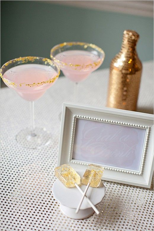 glitter party details edible glitter cocktail tons of party ideas wwwpartyzco