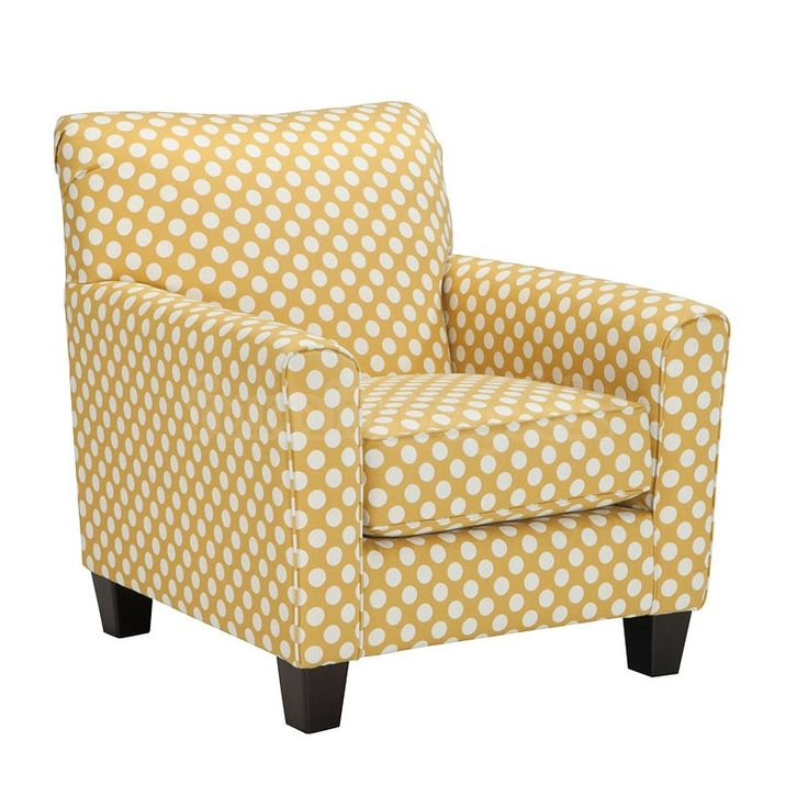 Brindon Yellow Accent Chair