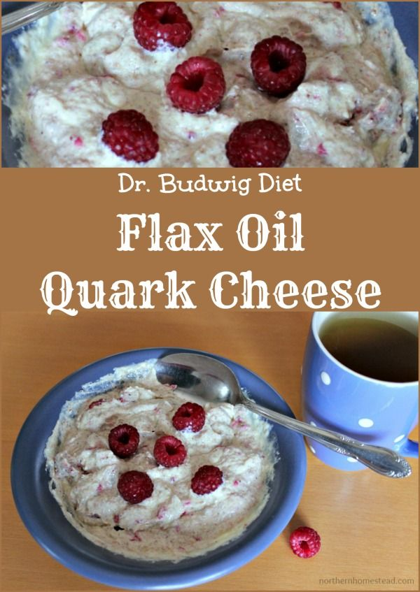 The Flax Oil Quark Cheese Diet From Dr. Budwig is a True Aid Against Arthritis, Heart Infarction, Cancer and Other Diseases. Find the recipe here.
