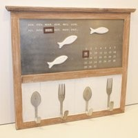 La Mer Calendar with fish magnets and cutlery hooks - Lifestyle Home and Living