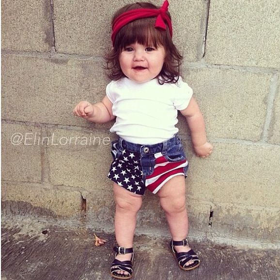 Awesome 4th of July baby outfit - 61 Best Baby Outfits Images On Pinterest Baby Girl Outfits