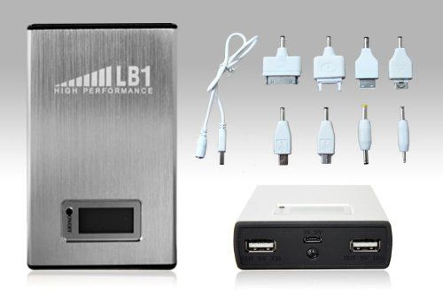 Introducing LB1 High Performance 11200mAh External Battery Charger Power Bank Backup Charger for iPhone 6 5s 5c 5 4s 4 iPad Air mini Samsung Galaxy S5 S4 S3 Note 4 3 HTC One M8 Nexus 5 Blackberry GPS Units Digital Camera Bluetooth Speaker and Other Smartphones and Tablets. Great product and follow us for more updates!