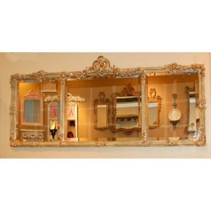 Hickory Manor House Georgian Mantel Mirror - 54W x 24H in.