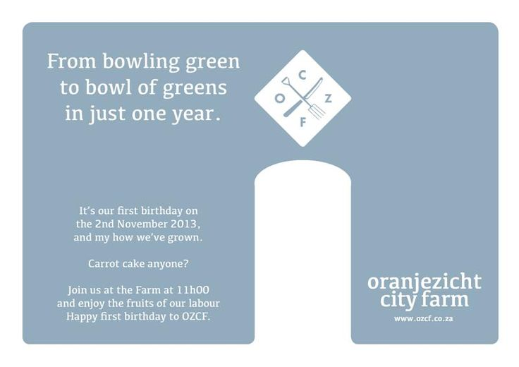 OZCF is celebrating their first birthday this Sat, please support if you are around.