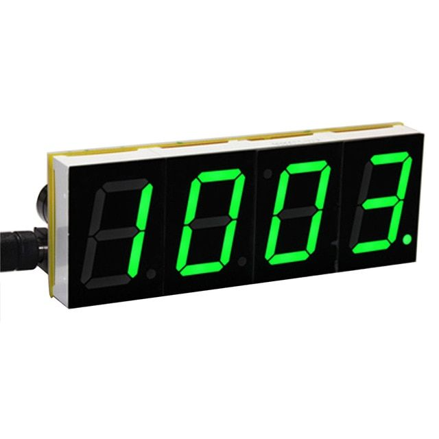 Diy Digital Led Display Desktop Digital Table Clocks Electronic