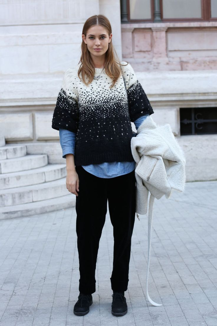 Knitwear Street Style 8 - pictures, photos, images