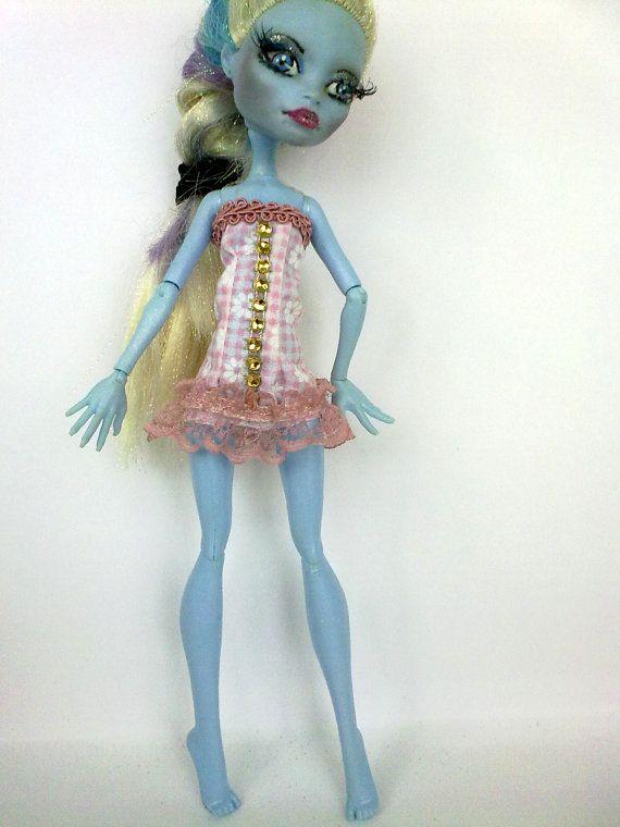 Vestiti per bambola mostro . Corsetto, top per Monster . MH vestito, fascion mh , attrezzatura per la bambola mostro
