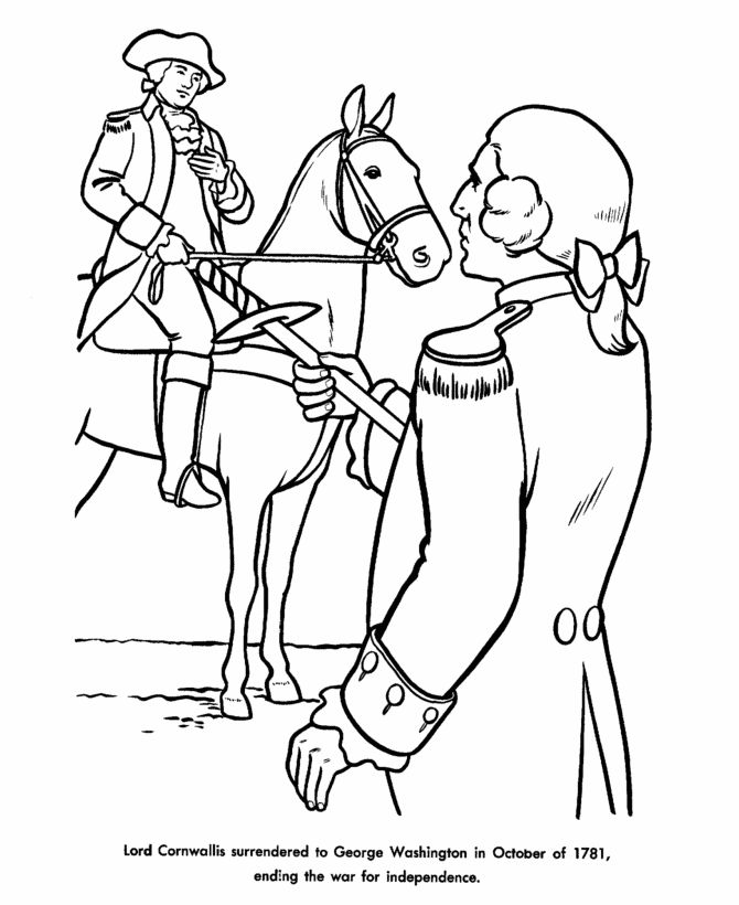american revolution and coloring pages - photo#18