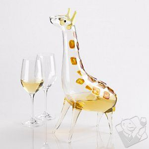 5 giraffe carafes... glenda burks - i thought you might want to see this. :)