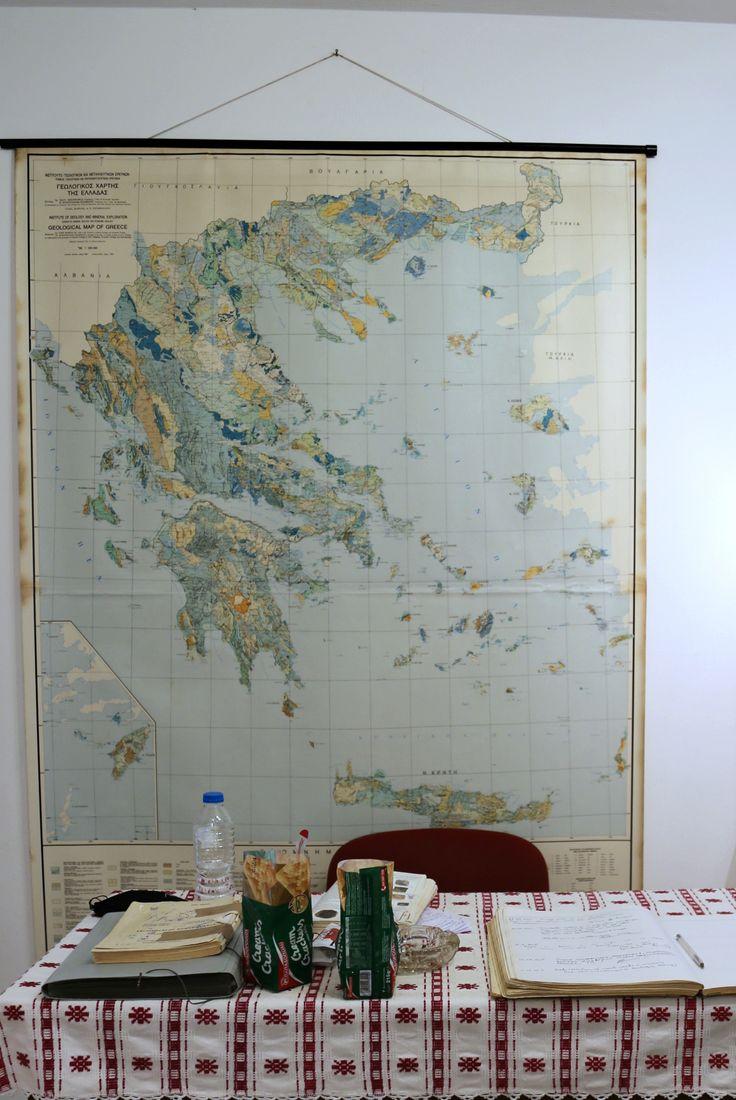 Γεωλογικό μουσείο Απειράνθου.