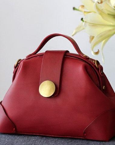 Handmade Leather handbag bag shopper bag for women leather crossbody shoulder bag