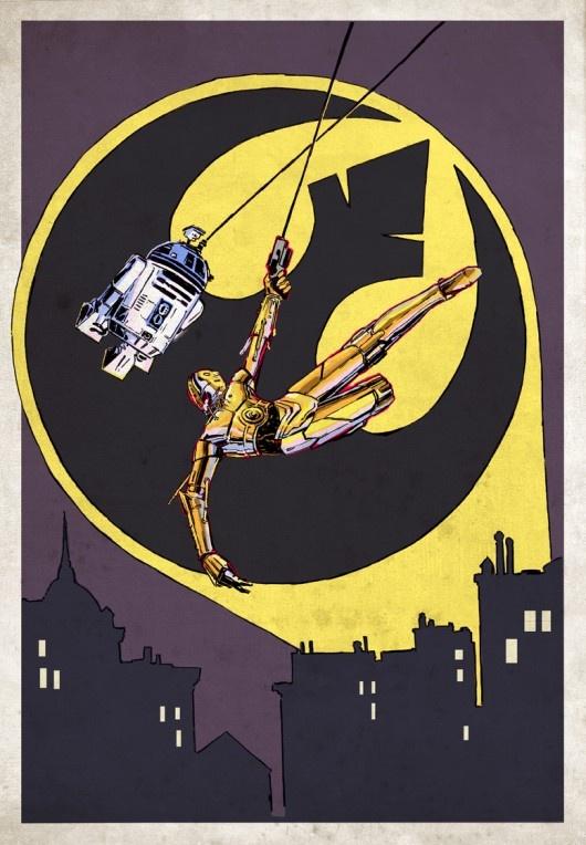 Star wars batman style
