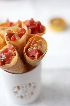 Petits cônes de foie gras et confiture de figues   Gourmandiseries - Blog de recettes de cuisine simples et gourmandes