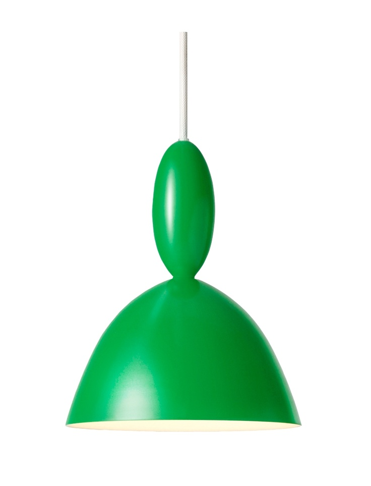 Mhy Green Ceiling Lamp from Muuto. Design by Norway Says.