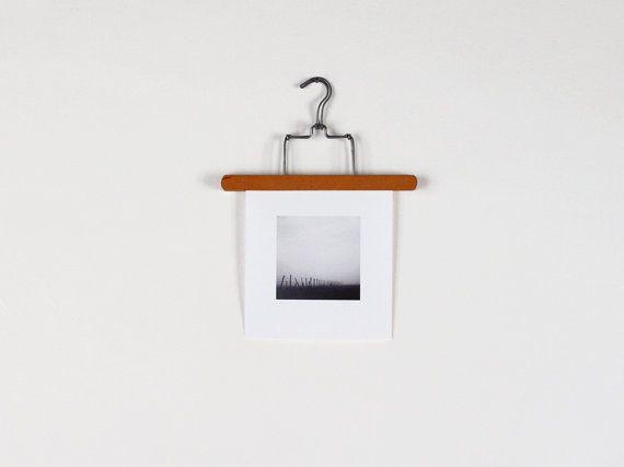 Vintage wooden pant hanger Art hanger Wall hanging by FrenchFind, $8.50