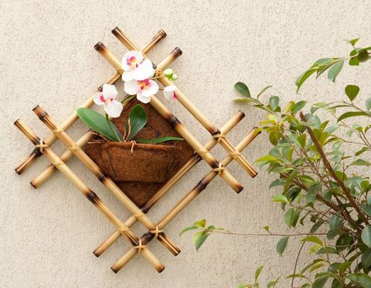 beaded bracelets DIY bamboo wall decor ideas  2 craft projects with bamboo sticks