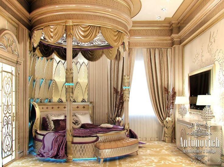 Дизайн спальни in Dubai, Роскошная Спальня в Восточном Стиле, Photo 2