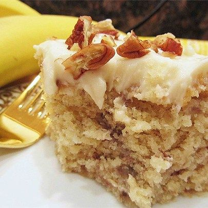 Top Banan Cake Recipe With Cream Cheese Frosting