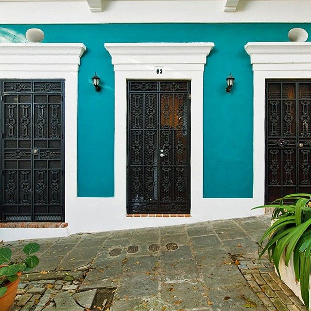 A city with a history as rich as its colors. #sanjuan