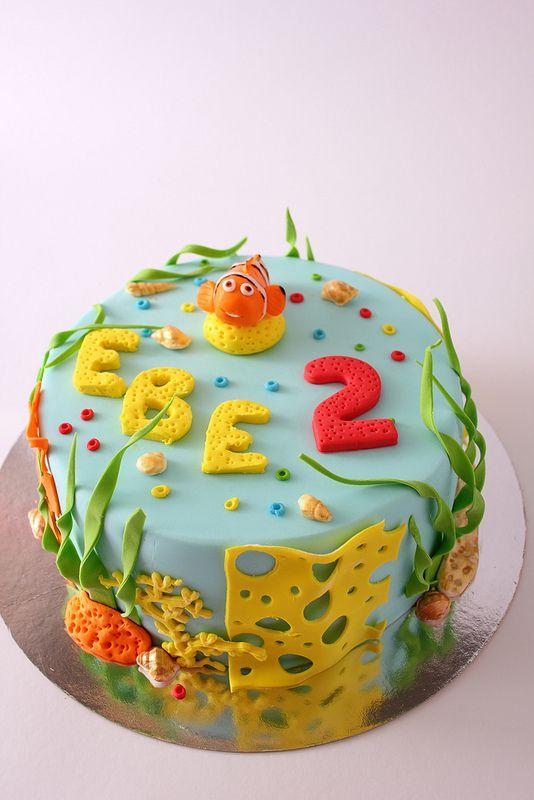 """Детский торт """"Немо"""""""