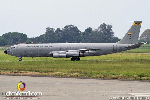 Boeing 707 Zeus. Fuerza Aerea Colombiana