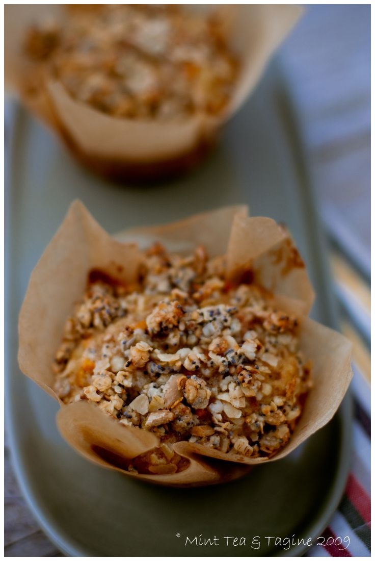 Fabulous Ottolenghi Carrot, Apple and Pecan Muffins #muffin #breakfast #nutty