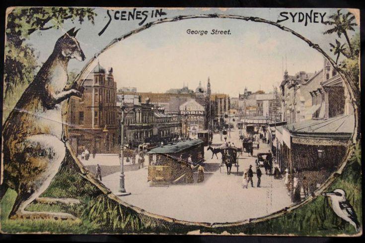 When trams still ran on Sydney streets