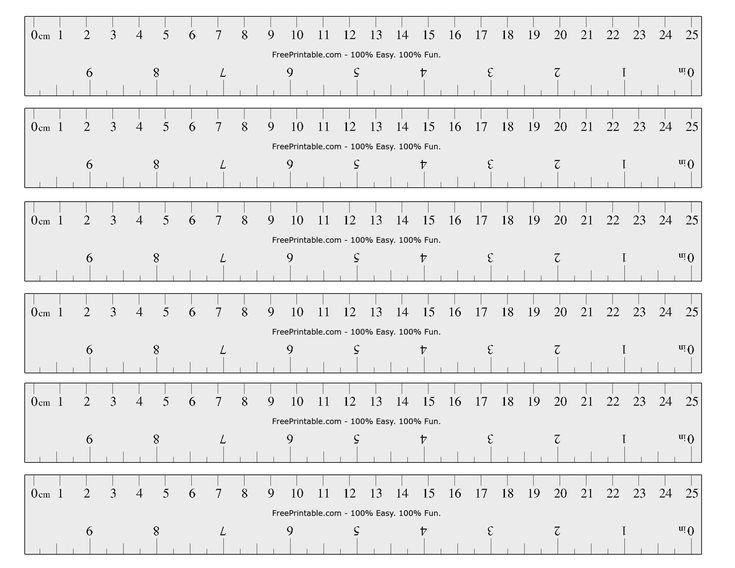 Free Printable cm/Inch Ruler | Math Mania!! | Pinterest ...